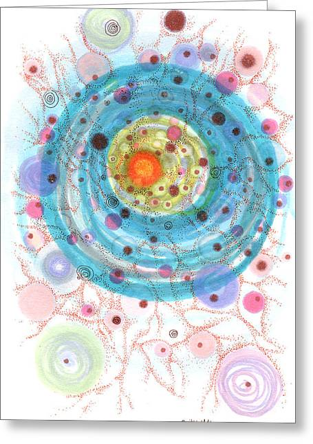 Accretion Greeting Card
