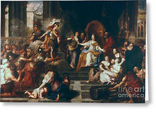 Achates And Aeneas Greeting Card