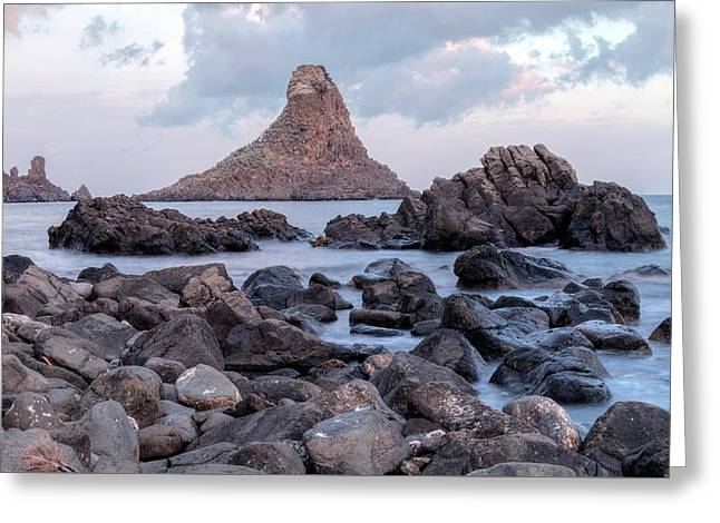 Aci Trezza - Sicily Greeting Card by Joana Kruse