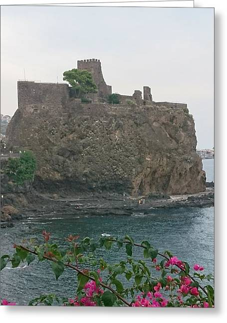 Acicastello, Catania, Sicily Greeting Card