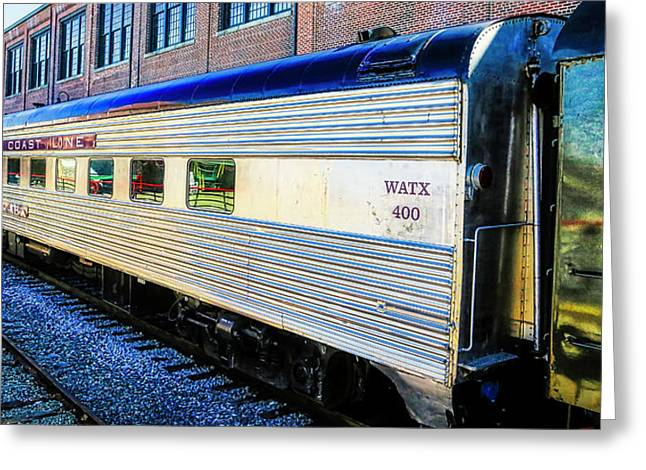 Moultrie Dining Car Greeting Card