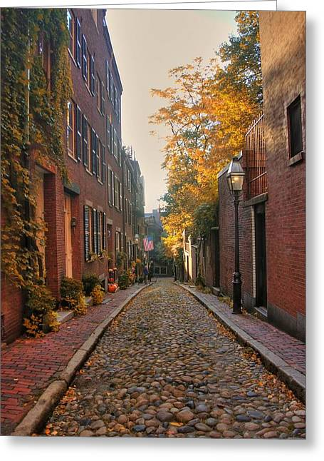 Acorn St. 3 Greeting Card