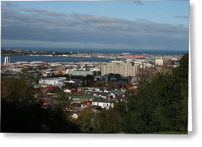 Across City To South Dunedin Greeting Card