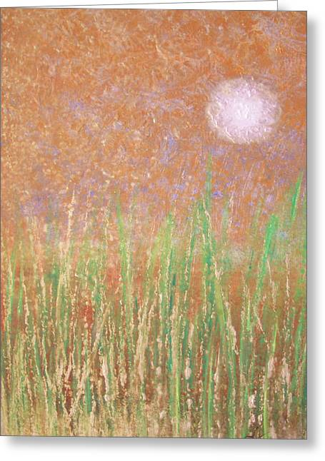 Across The Marsh Greeting Card