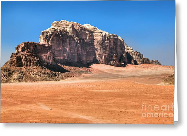 Across Wadi Rum Greeting Card