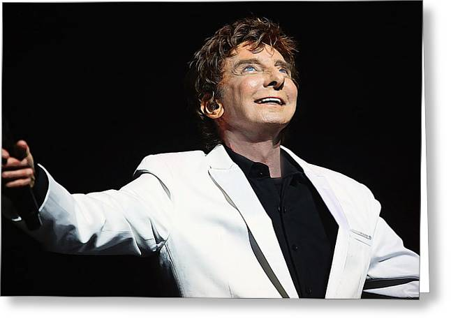 Barry manilow greeting cards fine art america acrylic paint sketch of barry manilow greeting card bookmarktalkfo Image collections