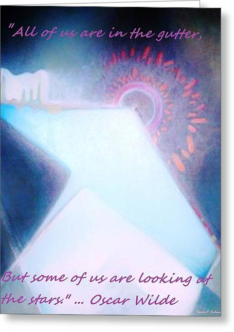 Greeting Card featuring the painting Act Of Creation by Denise Fulmer