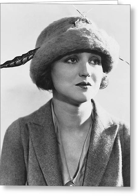 Actress Agnes Ayres Greeting Card by Underwood Archives