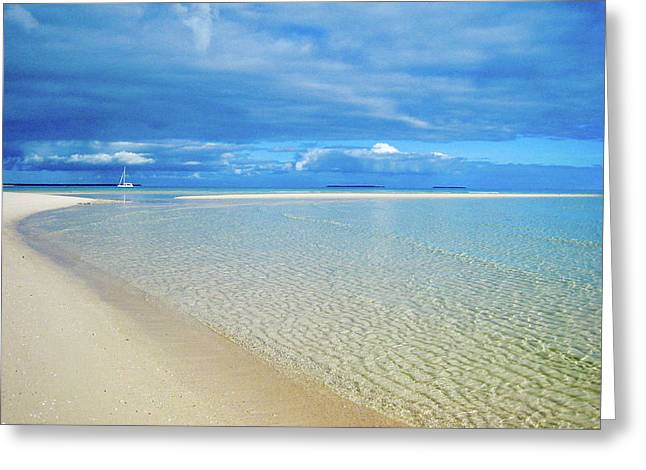 Adagio Alone In Ouvea, South Pacific Greeting Card