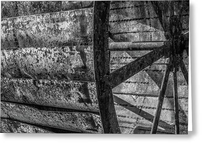Adam's Mill Water Wheel Greeting Card
