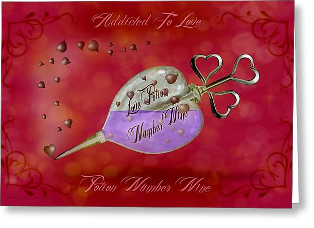 Addicted To Love - 180 Greeting Card