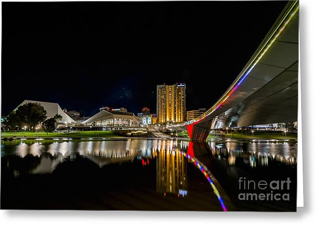 Adelaide Riverbank Greeting Card