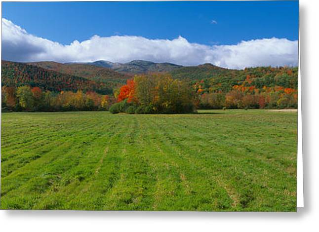 Adirondack Mountains, Upper State New Greeting Card by Panoramic Images