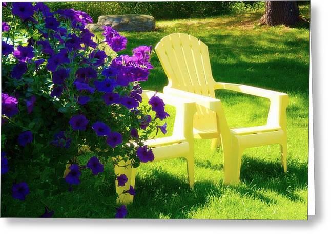 Adirondack Summer Days Greeting Card