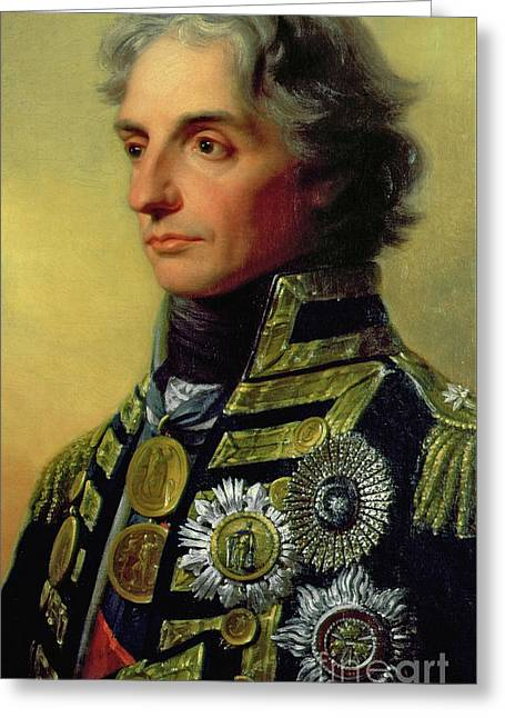 Admiral Horatio Nelson Greeting Card