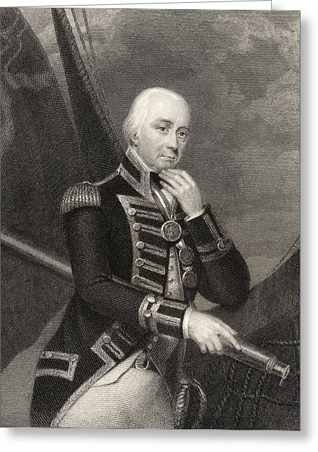 Admiral Lord Cuthbert Collingwood 1st Greeting Card
