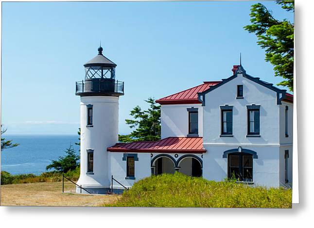 Admiralty Head Light Greeting Card