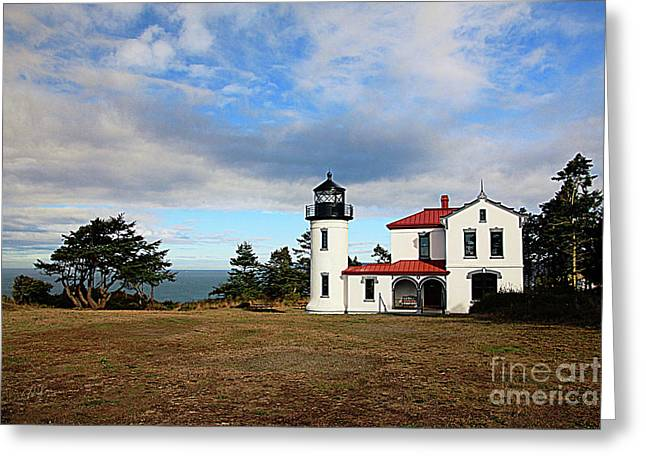 Admiralty Head Lighthouse I Greeting Card