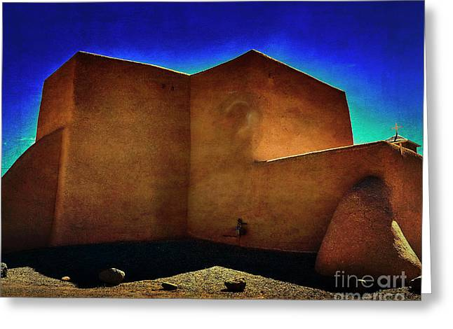 Adobe Church II Greeting Card