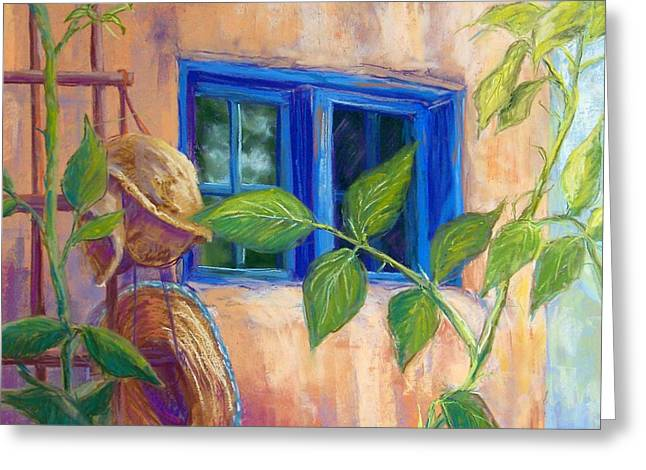 Adobe Windows Greeting Card by Candy Mayer