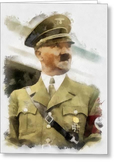 Adolf Hitler Wwii Greeting Card