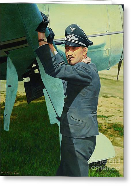 Adolf Greeting Card