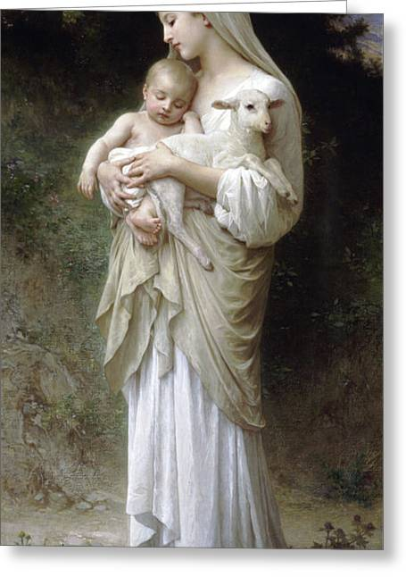 Adolphe Bouguereau Greeting Card