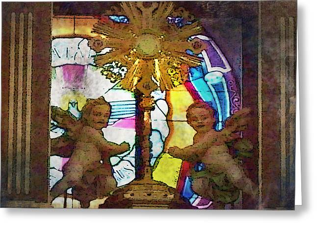 Adoration Chapel 4 Greeting Card