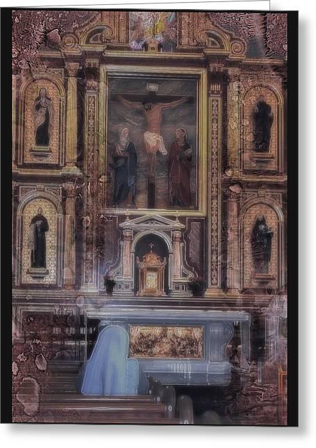 Adoration Chapel 5 Greeting Card