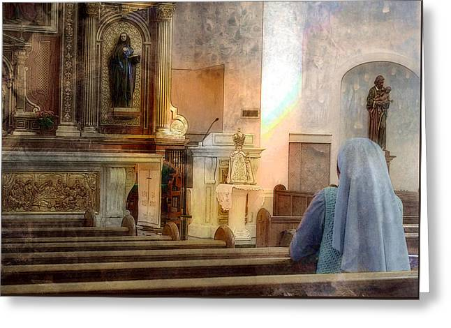 Adoration Chapel Greeting Card