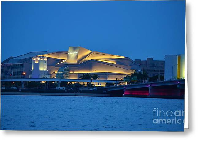 Rene Triay Photography Greeting Cards - Adrienne Arsht Center 2 Greeting Card by Rene Triay Photography