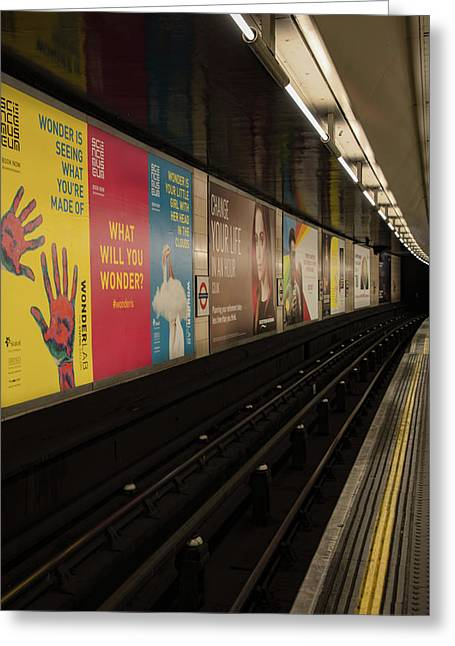 Ads Underground Greeting Card