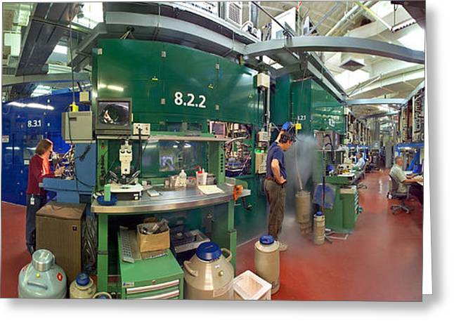 Advanced Light Source Beamline 8.2.2 Greeting Card by Science Source