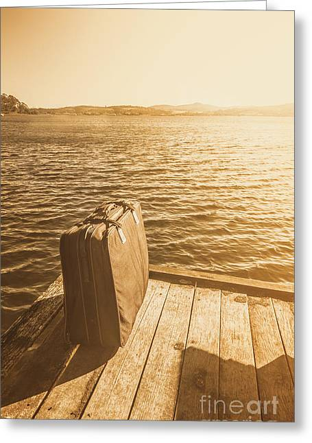 Adventures Abroad Greeting Card by Jorgo Photography - Wall Art Gallery