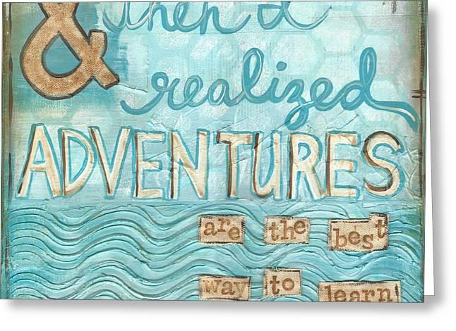 Adventures Greeting Card