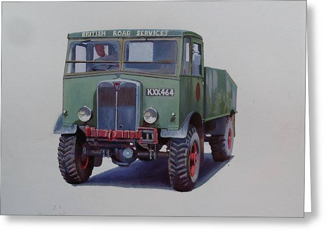 Aec Matador Brs. Greeting Card by Mike Jeffries