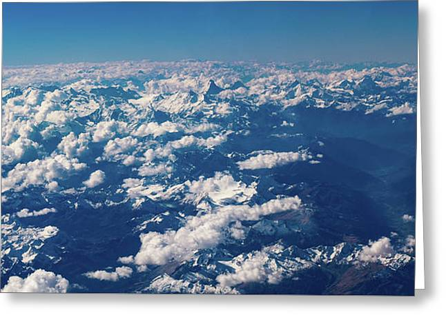 Greeting Card featuring the photograph Aerial View by Nikos Stavrakas