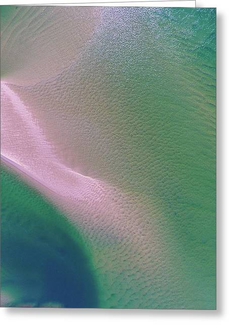 Greeting Card featuring the photograph Aerial View Of Noosa River by Keiran Lusk