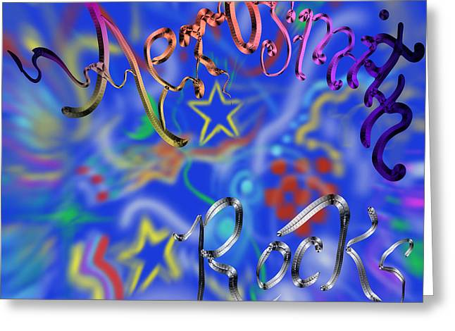Aerosmith  Greeting Card