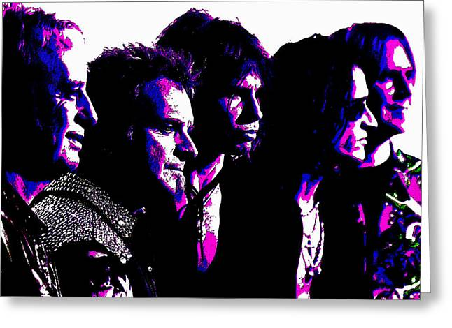 Aerosmith Rock Greeting Card