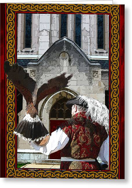 The Falconer Greeting Card