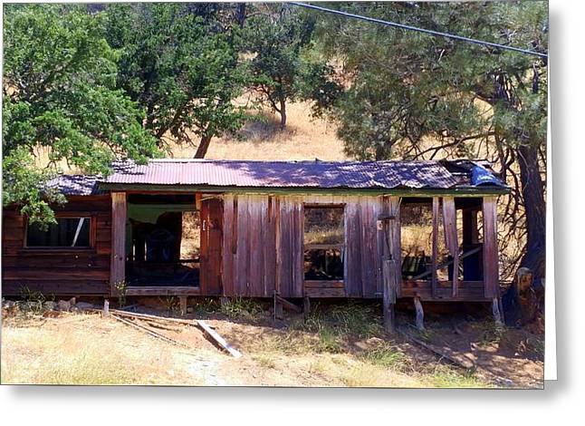 Cozy Cottage Kern County Greeting Card