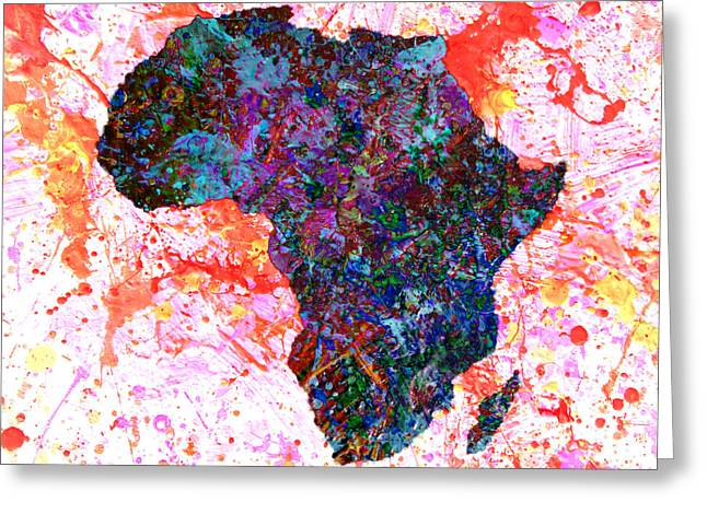 Africa 12a Greeting Card