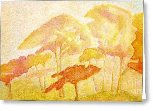 Africa Greeting Card by Mimo Krouzian