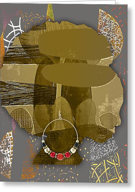 African American  Greeting Card by Marvin Blaine