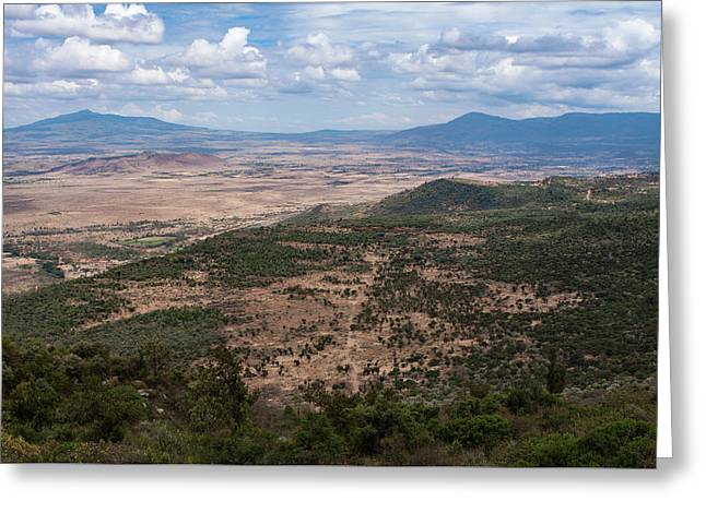 African Great Rift Valley Greeting Card by Aidan Moran