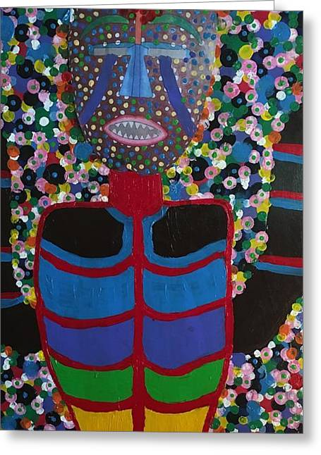 African Prince Greeting Card by Russell Simmons