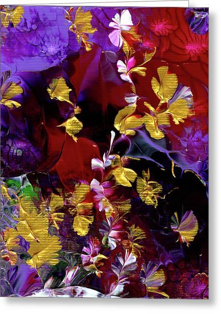 African Violet Awake #3 Greeting Card
