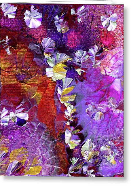 African Violet Awake #5 Greeting Card