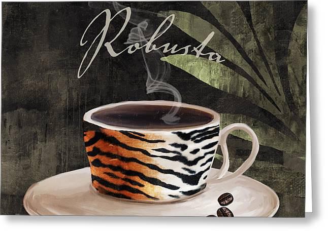Afrikan Coffees II Greeting Card